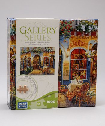 Café 1000-Piece Gallery Series Wooden Puzzle
