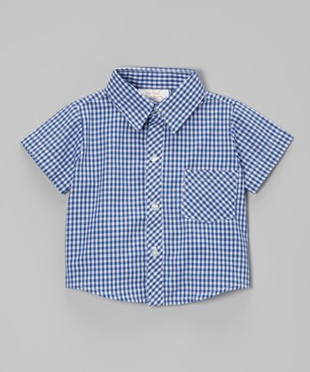 Blue Button-Up - Infant & Toddler