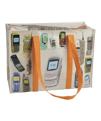 Blue Q Cell Phone Shoulder Tote