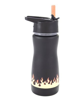 Black Flame Frost Kids 13-Oz. Water Bottle