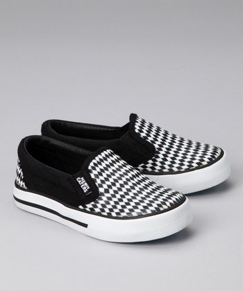 Black & White Diamonds Sneaker