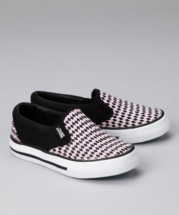 Black & Pink Diamonds Sneaker