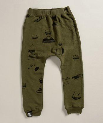 Army Green Bandit Pants  - Infant, Toddler & Boys