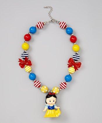 Princess Snowy Bubble Gum Necklace