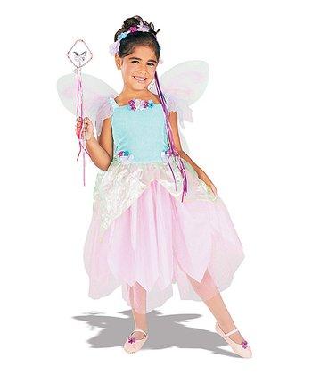 Rubie's Blue & Pink Radiant Pixie Dress-Up Set - Toddler