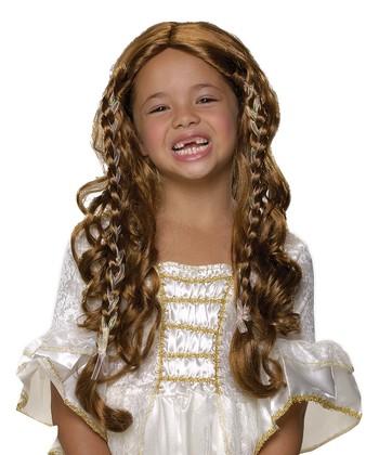 Rubie's Brunette Fairy Tale Princess Wig