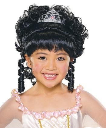 Rubie's Black Charming Princess Wig