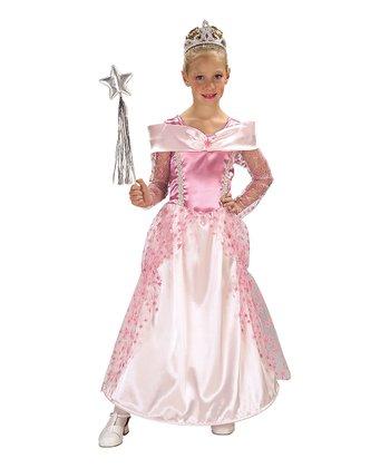 Rubie's Pink Star Princess Dress-Up Set - Girls
