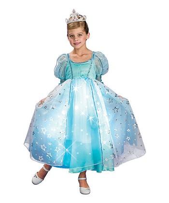 Rubie's Blue Light-Up Princess Dress-Up Set - Girls