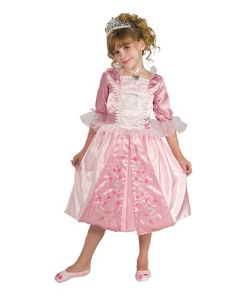 Rubie's Pink Rosebud Princess Dress-Up Set - Girls