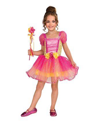 Rubie's Pink Garden Princess Dress-Up Set - Toddler & Girls