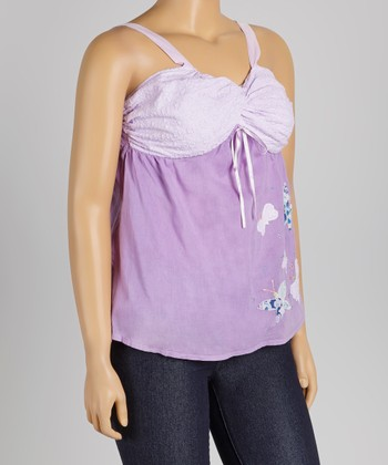 Lavender Butterfly Dream Tank