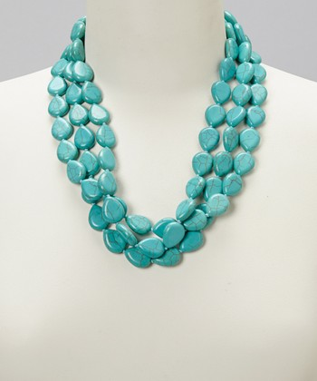 Turquoise Three-Strand Necklace