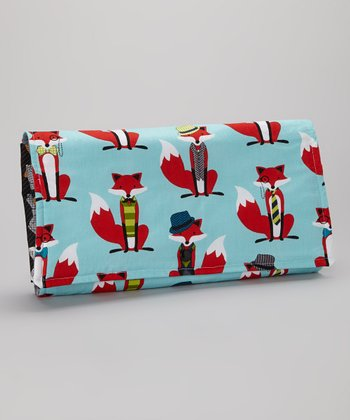 Brownie Gifts Red Fox Diaper Clutch