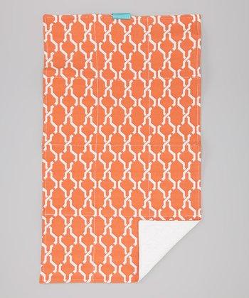 Caught Ya Lookin' Orange Hexagon Changing Pad