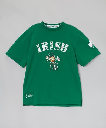 Green Leprechaun 'Irish' Short-Sleeve Tee