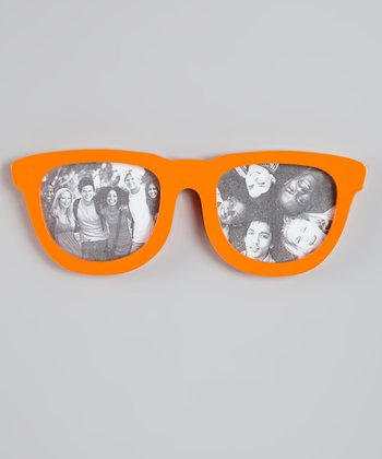 Orange Sunglasses Frame