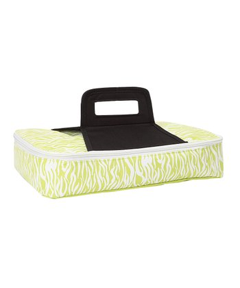 Green Zebra Rectangular Insulated Casserole Carrier