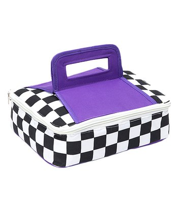 Purple Square Insulated Food Carrier
