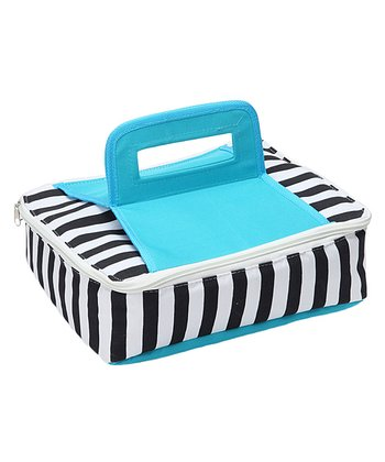 Blue Square Insulated Food Carrier