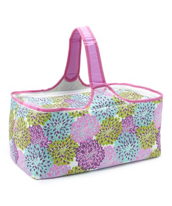 Floral Insulated Picnic Basket