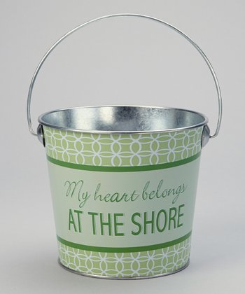 Green 'The Shore' Small Bucket