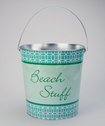 'Beach Stuff' Large Bucket