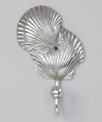 Silver Seashell Wall Hook