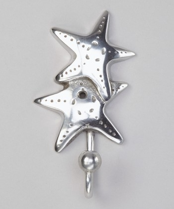 Silver Starfish Wall Hook