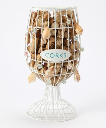 7'' Shell Cork Holder