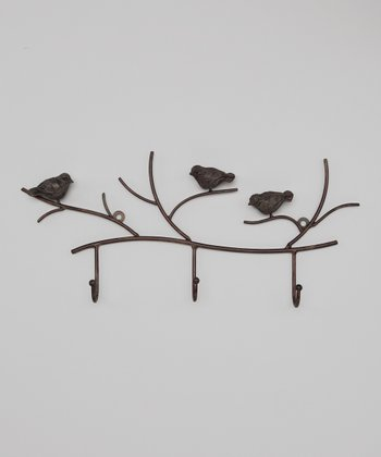 Bird Branch Wall Hook