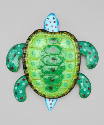 Blue & Green Sea Turtle Wall Art
