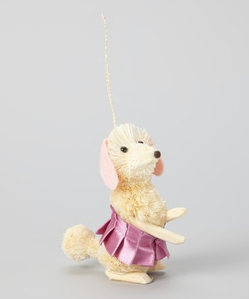 Pink Tutu Dog Ornament