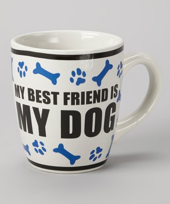 Blue 'My Best Friend Is My Dog' 24-Oz. Mug
