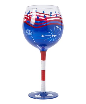 Stars & Stripes 18-Oz. Wine Glass
