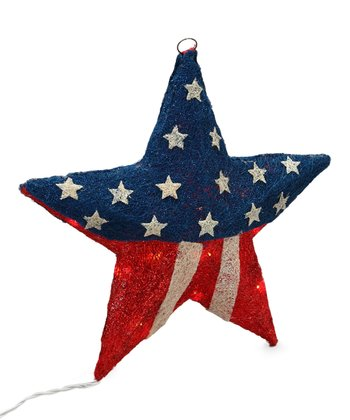 Americana LED Star Wall Art