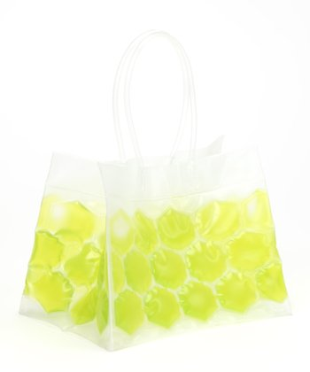 Green Tropical Six-Pack Can Chiller Tote