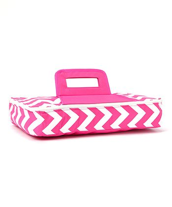 Pink Tropez Rectangular Food Carrier