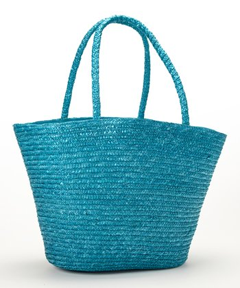 Blue Tropical Maize Tote
