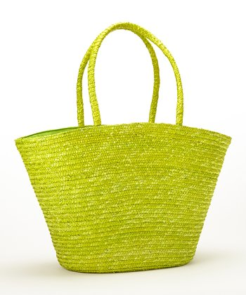 Green Tropical Maize Tote