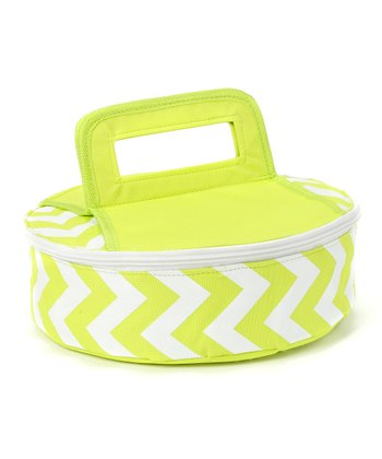 Green Tropez Round Insulated Food Carrier