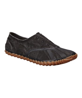 Black Picnic Plimsole - Women