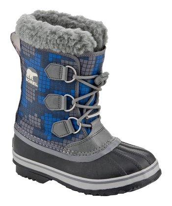 Charcoal & Azul Yoot Pac Nylon Boot
