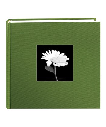 Herbal Green Fabric Photo Album
