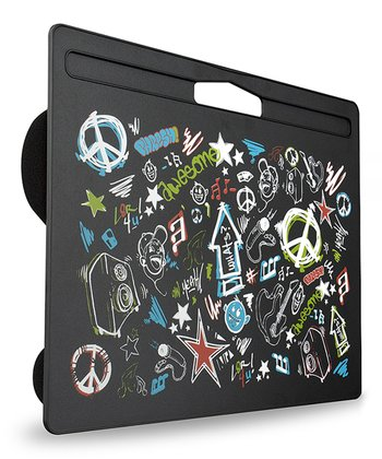 Black Rock Graffiti Fashion Lap Desk