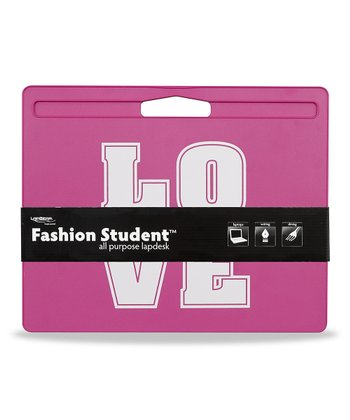 Pink 'Love' Fashion Lap Desk