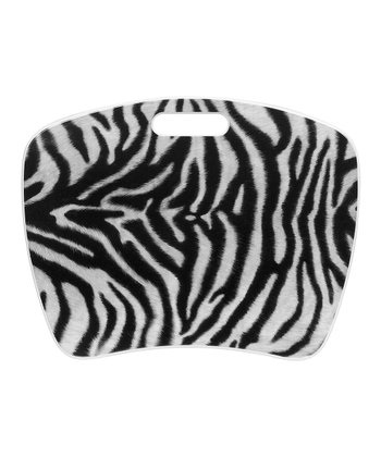 Black & White Zebra Fashion Student Lap Desk