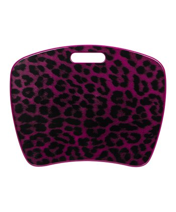 Pink Leopard Fashion Student Lap Desk