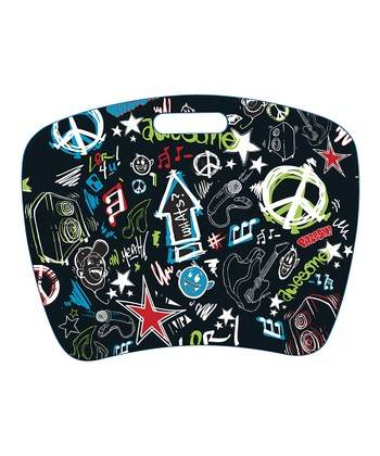 Black Rock Graffiti Fashion Student Lap Desk