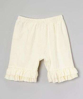 Buttercream Ruffle Shorts - Infant, Toddler & Girls